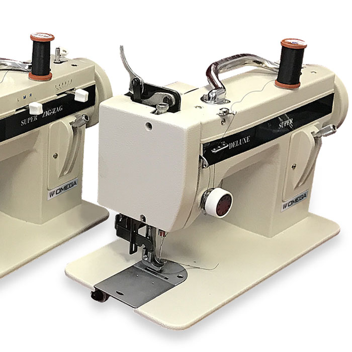 PORTABLE OMEGA WALKING FOOT SEWING MACHINE Custom Omega Stitch Art Sewing Machine